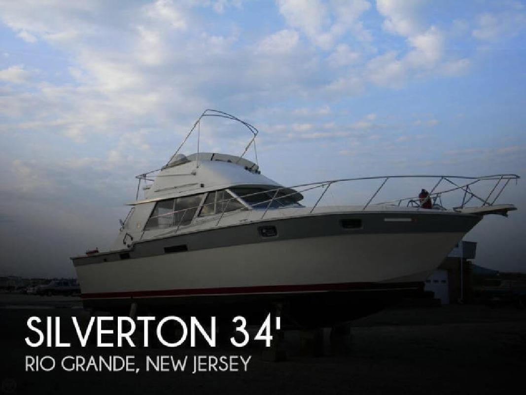 1986 Silverton Marine 34 Convertible Rio Grande NJ