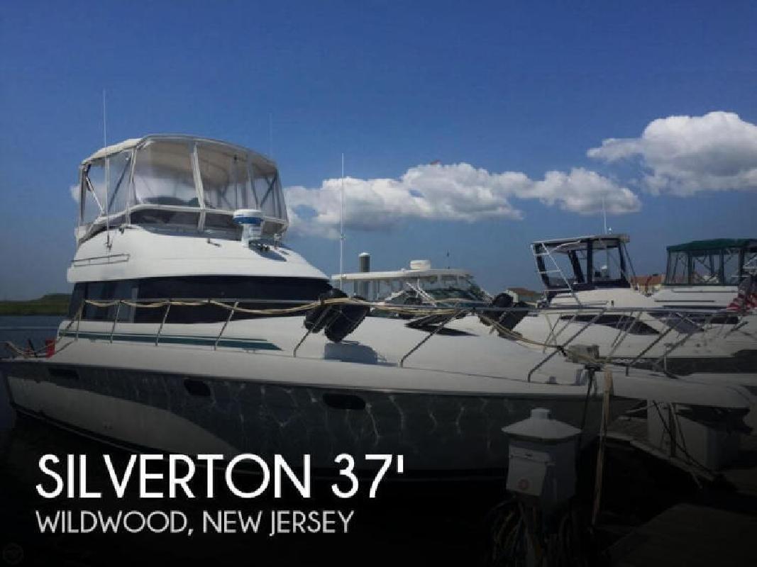 1992 Silverton Marine 37 Convertible Wildwood NJ