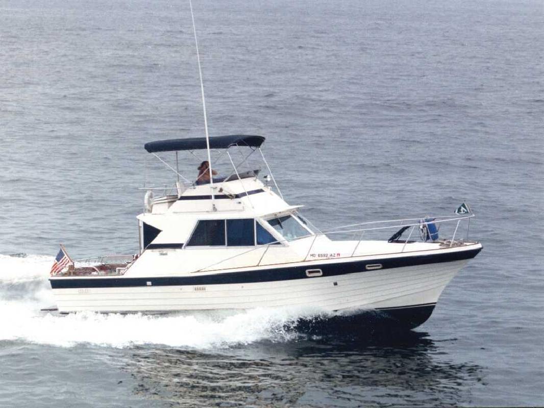 1976 34' Pequod Yacht Corp Pequod 34