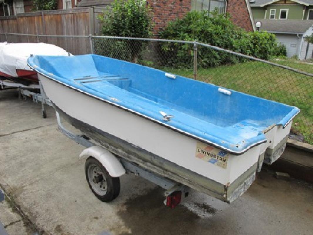 499 10 ft livingston fishing amp crabbing boat for sale in portland