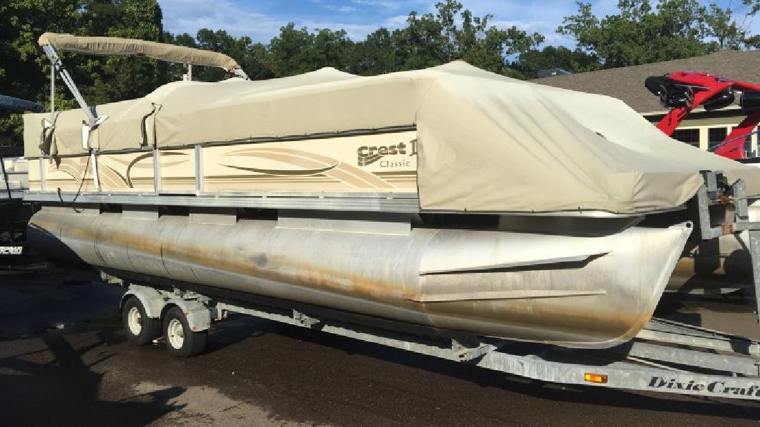 2002 - Crest Pontoon Boats - Crest III 25 in Ridgeland, MS