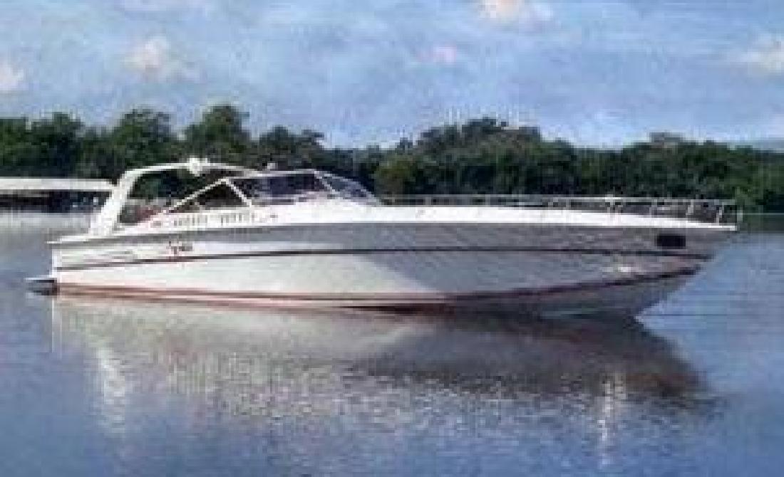 1985 50' Cary Express Cruiser FRESH WATER