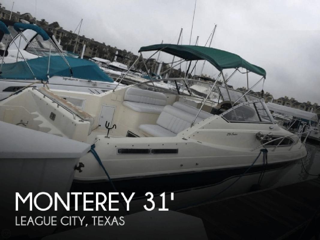 1995 Monterey Boats 296 Cruiser League City TX