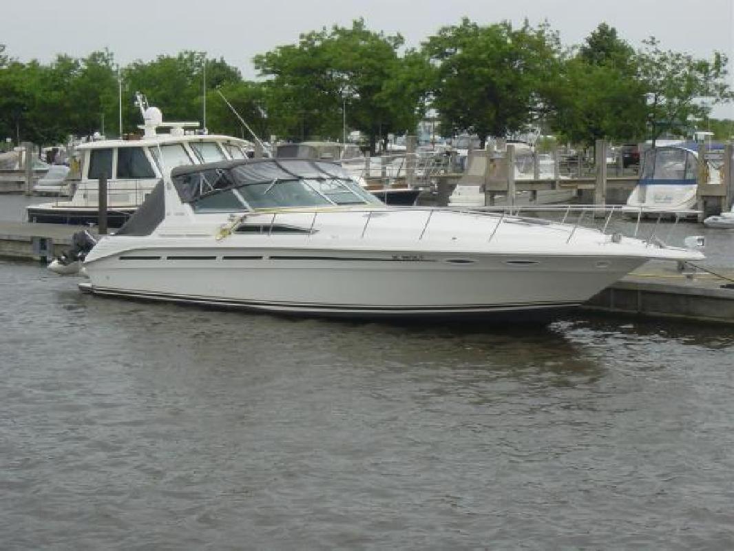 1993 Sea Ray 400 Express Cruiser Mt Clemens MI