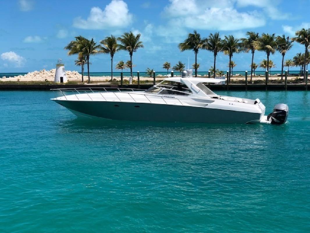 2007 Fountain Powerboats 48 Express Cruiser Pompano Beach FL