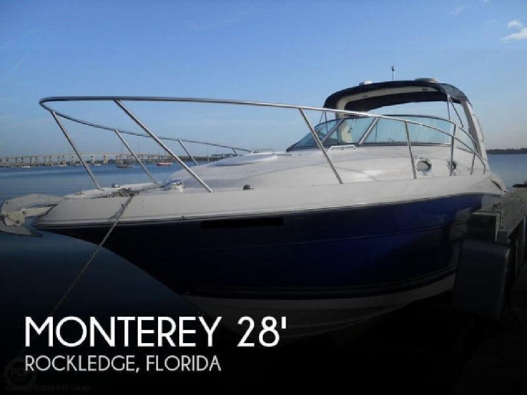2005 Monterey Boats 282 Cruiser Rockledge FL
