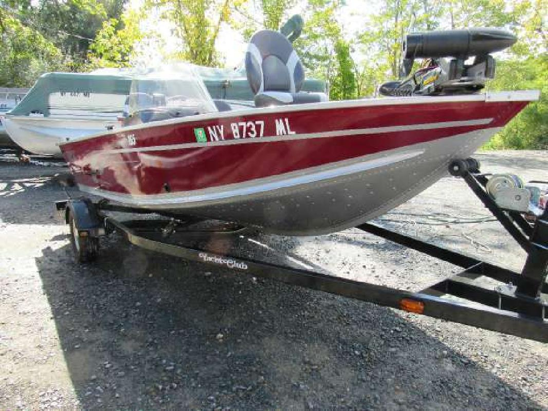 Alumacraft new and used boats for sale in new york for Fishing boats ny