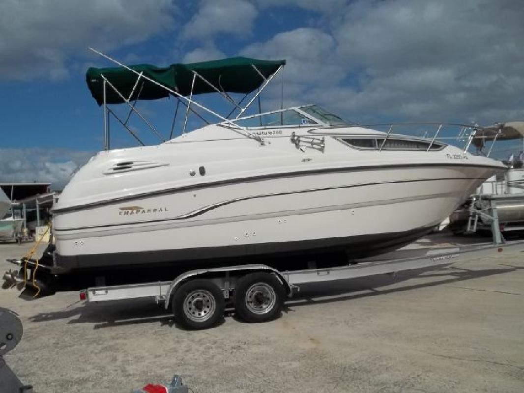 1997 25 39 Chaparral Boats Cuddy Cabin 260 Signature For