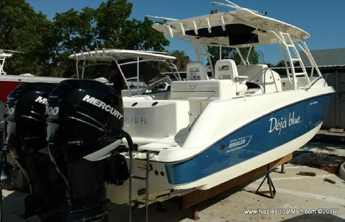 2014 Boston Whaler 320 Outrage Cuddy Cabin Naples Fl For