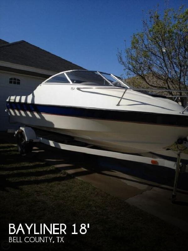 2005 Bayliner 192 Classic Runabout Cuddy Harker Heights TX