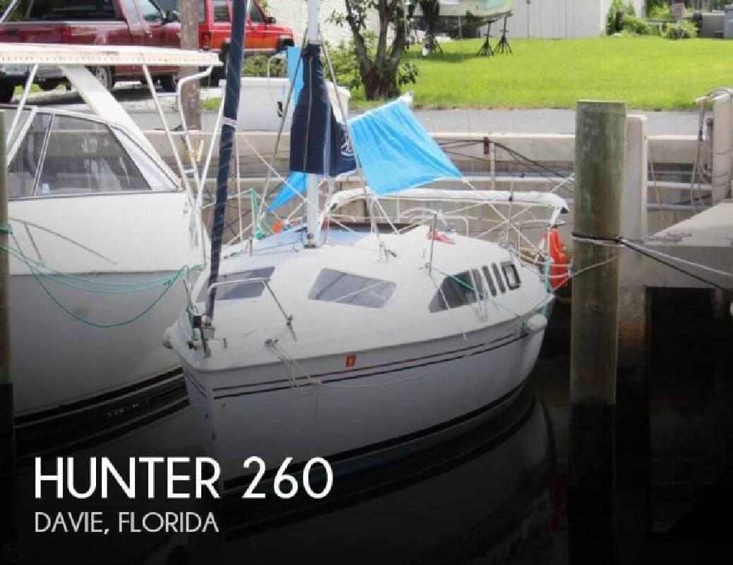 1999 Hunter Marine 260 Dania Beach FL