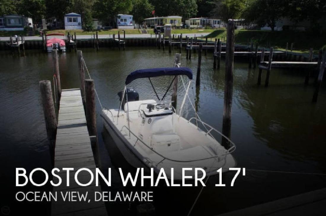 2015 Boston Whaler 170 Dauntless Ocean View DE
