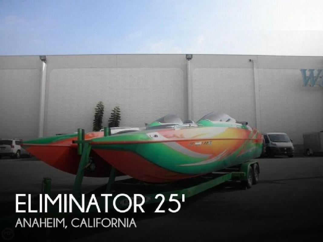 2008 Eliminator Boats 25 Daytona Anaheim CA
