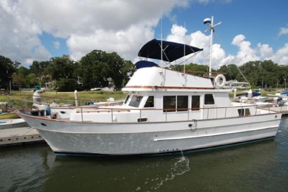 Diesels For Sale In Texas >> 1982 41' President 41 DC Sundeck Trawler for sale in Rockport, Texas | All Boat Listings.com