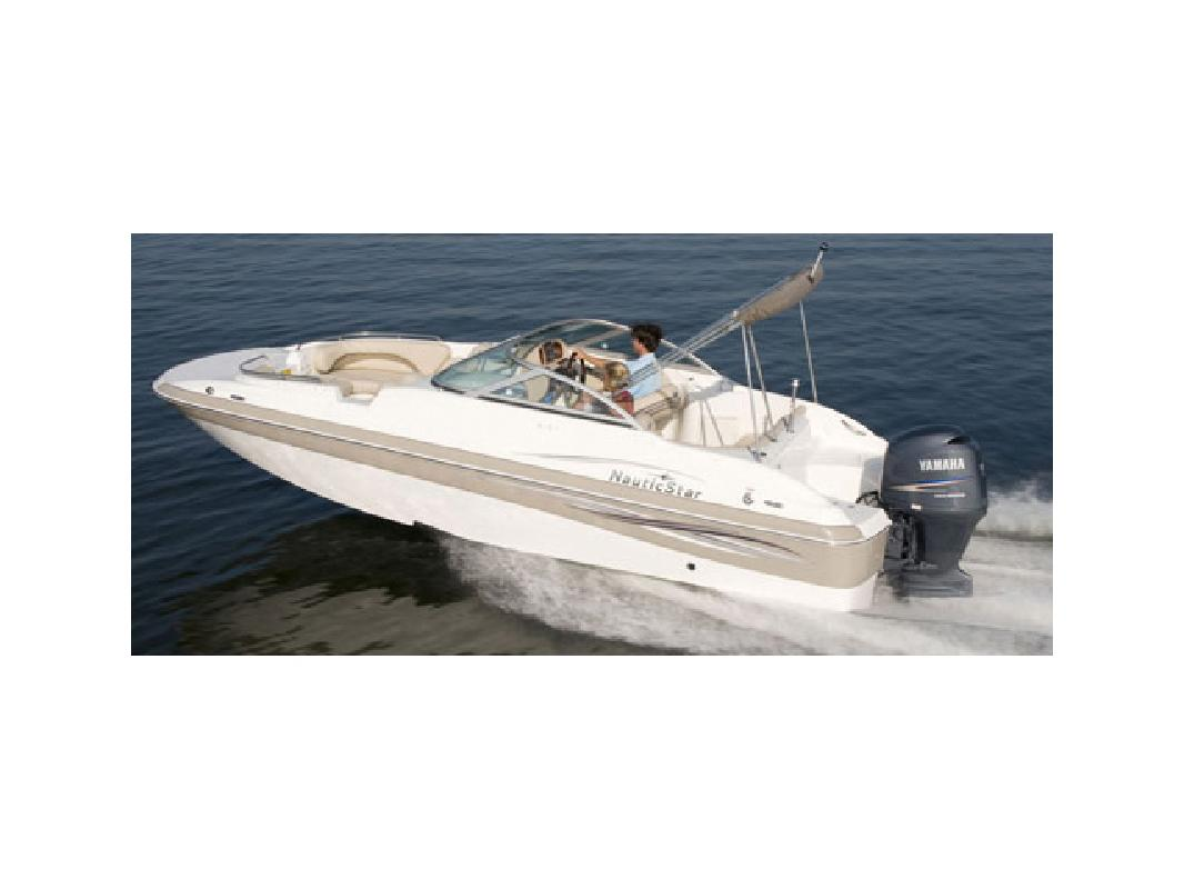 2011 21' Nautic Star Sport Deck 210 DC O/B