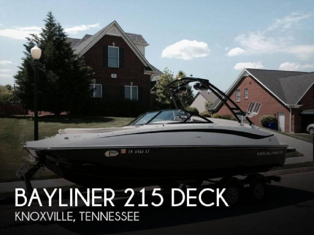 2013 Bayliner 215 Deck Knoxville TN