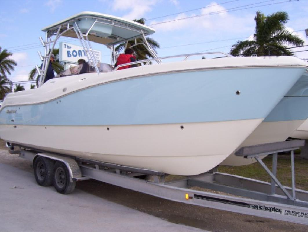 2009 27' Worldcat 270 Sport Deck (Warranty till 2016!)
