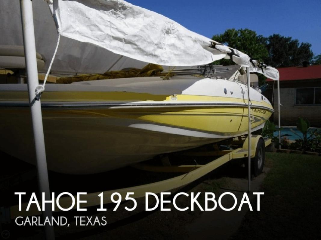 2006 Tahoe Pontoons 195 Deckboat Garland TX for sale in