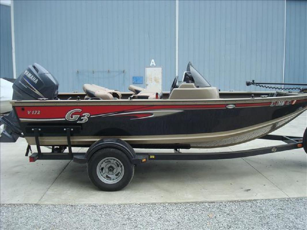 2012 G Three Boats Angler Deep-V V172 T Syracuse IN