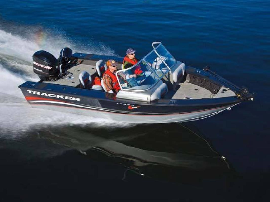 2012 19' Tracker Marine Group Multi-Species Deep V Targa V-18 Wt