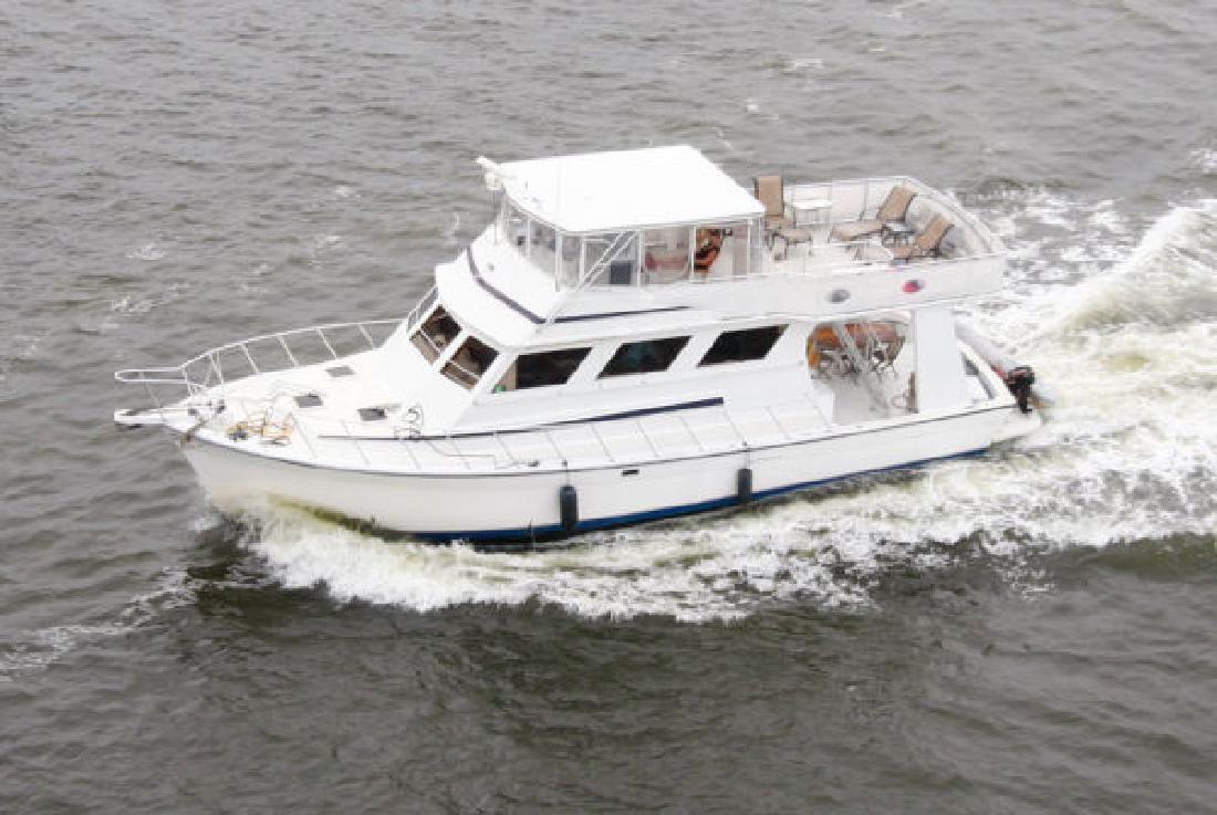 1998 55 Defender Yacht For Sale In Melbourne Florida