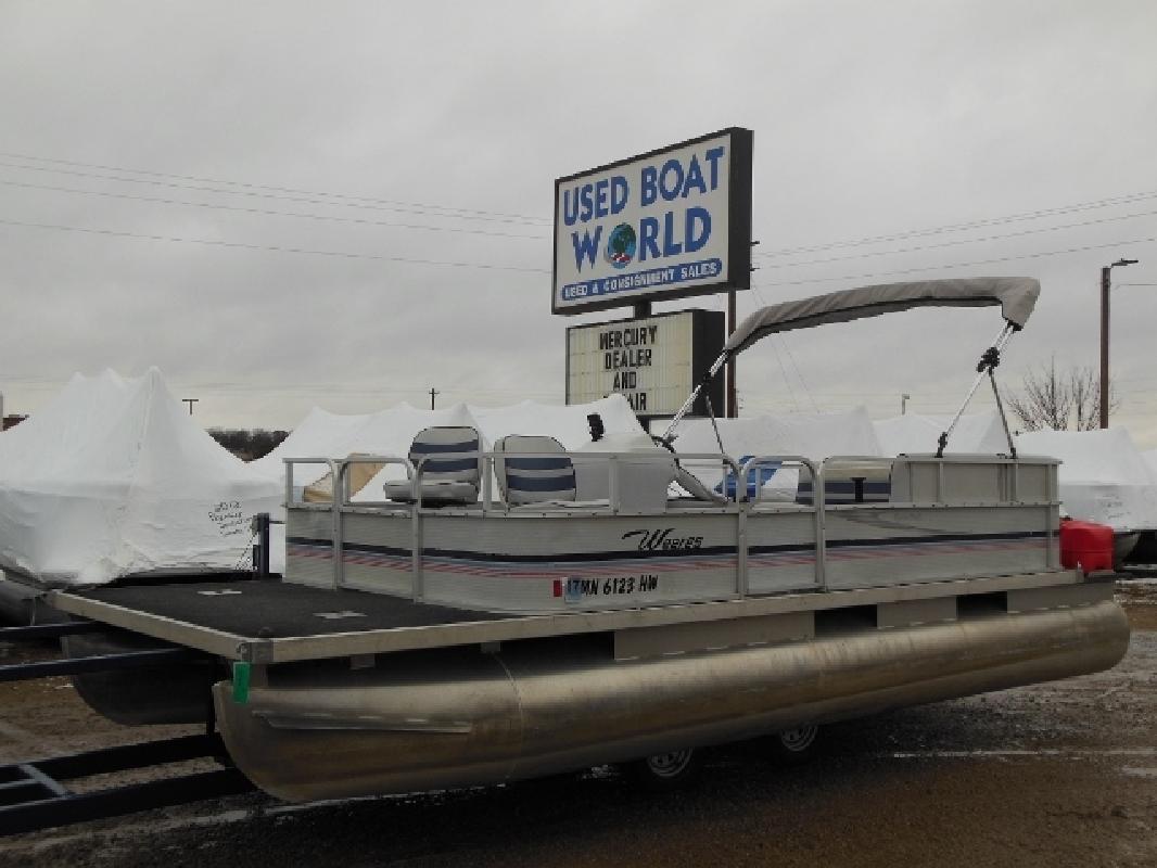 1999 - Weeres Pontoon Boats - Fisherman Deluxe 20-23 in East