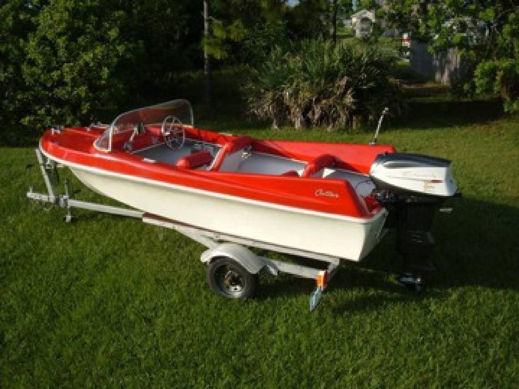 1960 Cutter Jet Deville 16 Runabout For Sale In Saint Lucie West Florida All Boat Listings Com