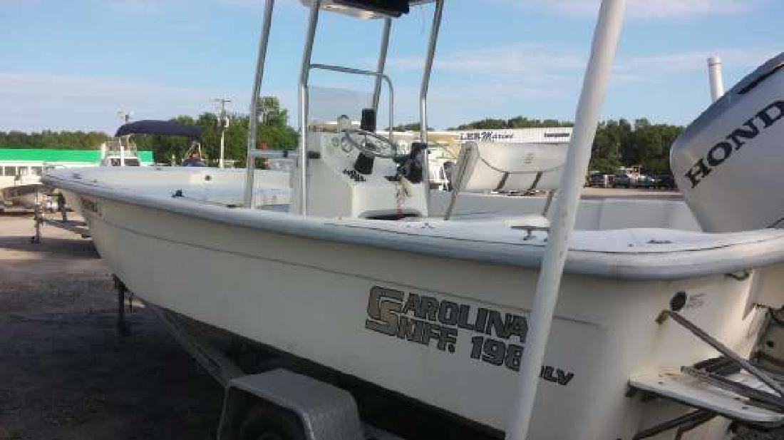 2007 CAROLINA SKIFF 198 DLV Beaufort SC