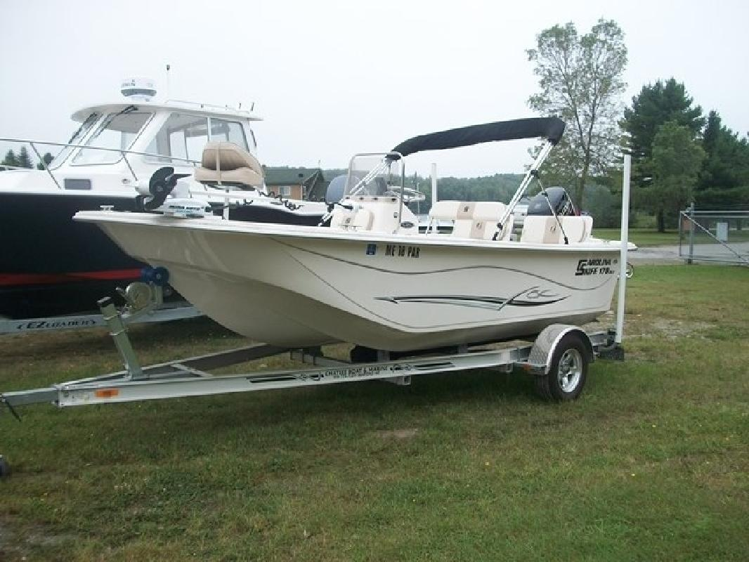 2013 Carolina Skiff 1780 DLV in Waterville, ME