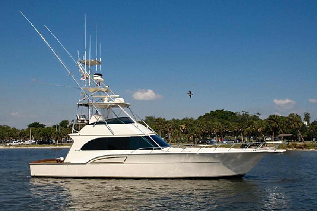 1996 54' Donzi Sportfish in Stuart, Florida