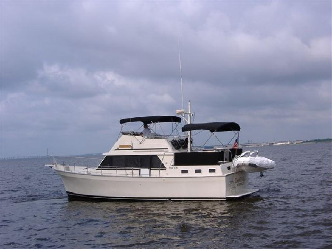 1987 40 Mainship Double Cabin For Sale In Jacksonville