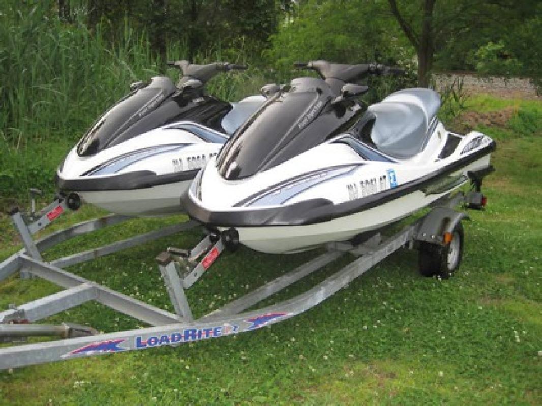 $2,800 OBO Two-2003 Yamaha Fx-140 Waverunners on Double Trailer Jet Ski US