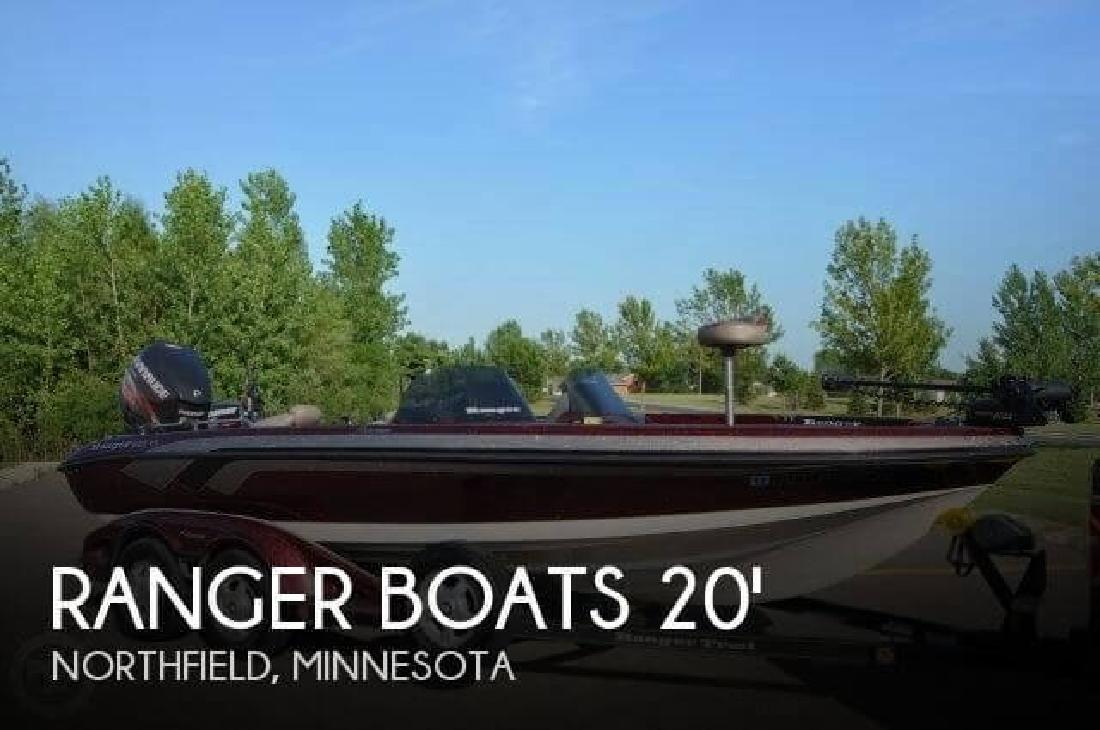 2009 Ranger Boats AR 620 DVS Fisherman Northfield MN