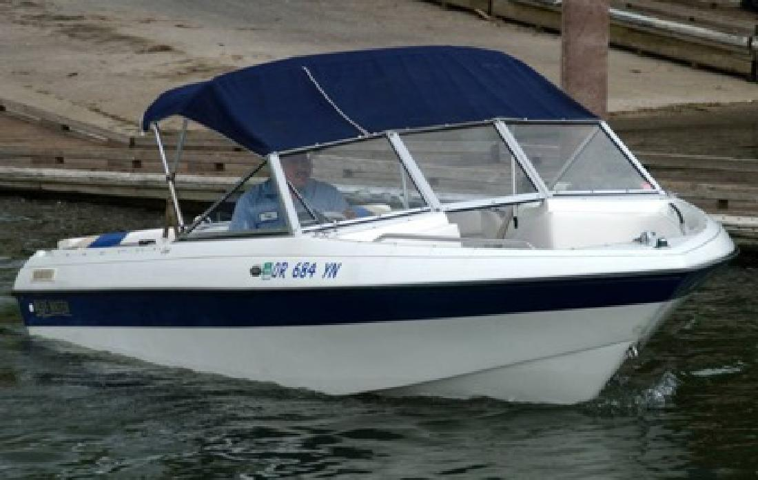 $9,995 1998 - Blue Water Boats Eagle - 18 ft