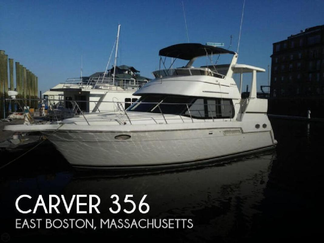 2000 Carver Yachts 356 East Boston MA