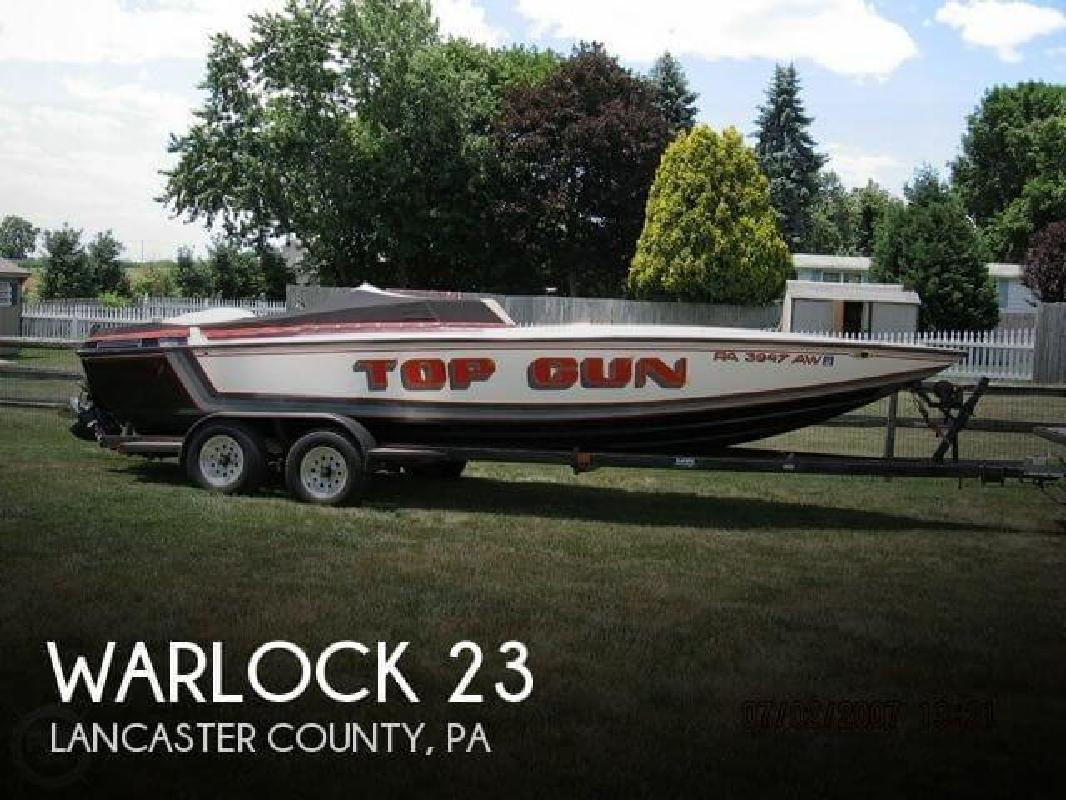 1989 Warlock Powerboats 23 East Petersburg PA