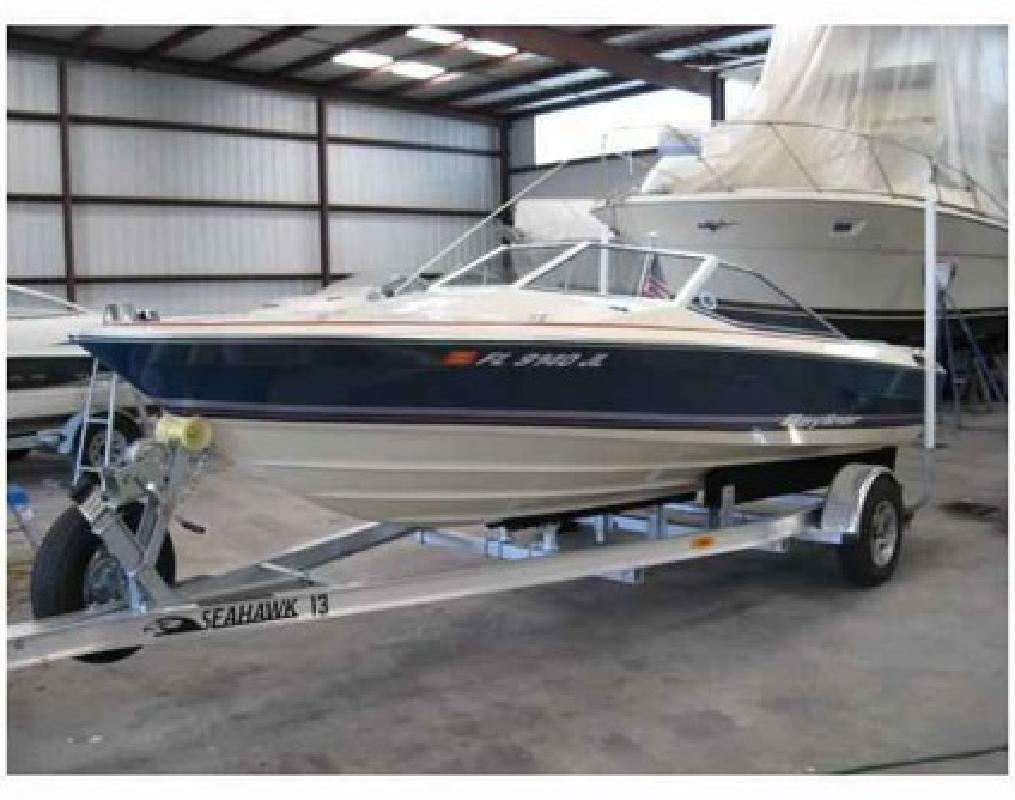 7000 18 BAYLINER EAGLE 1981 260 Merc Drive Engine Replaced In