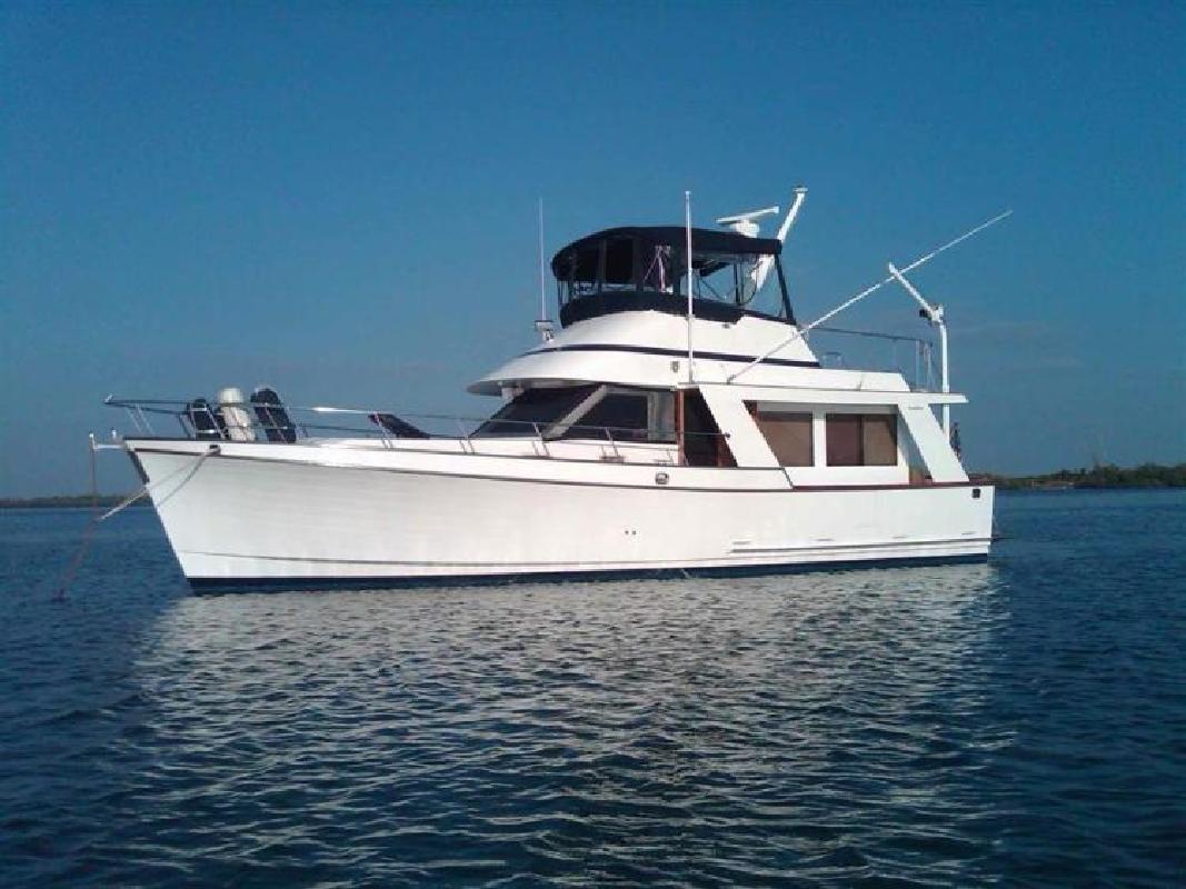 1984 OCEAN ALEXANDER 40 Europa Longboat Key FL