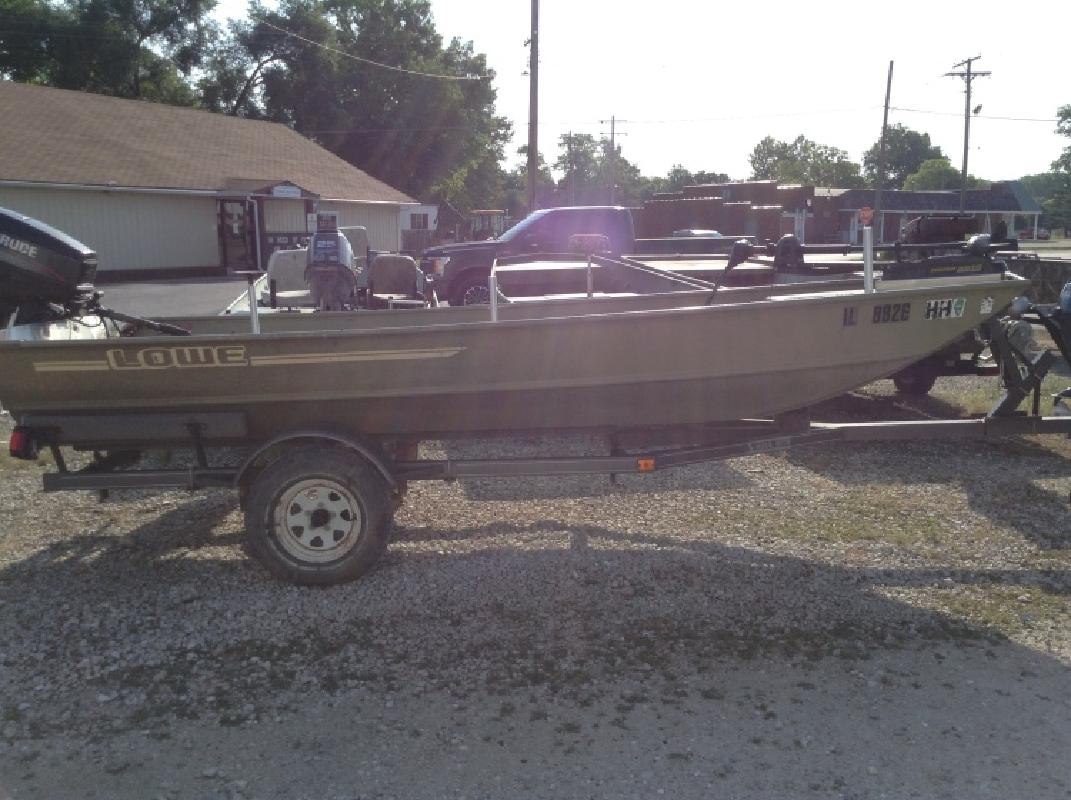 1991 Lowe with 40 hp Evinrude in Beardstown, IL