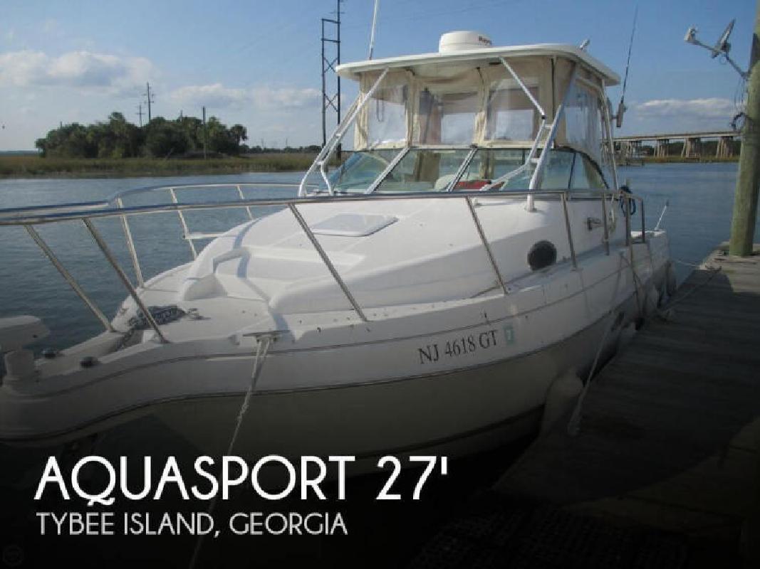 2002 Aquasport 275 Explorer Savannah GA