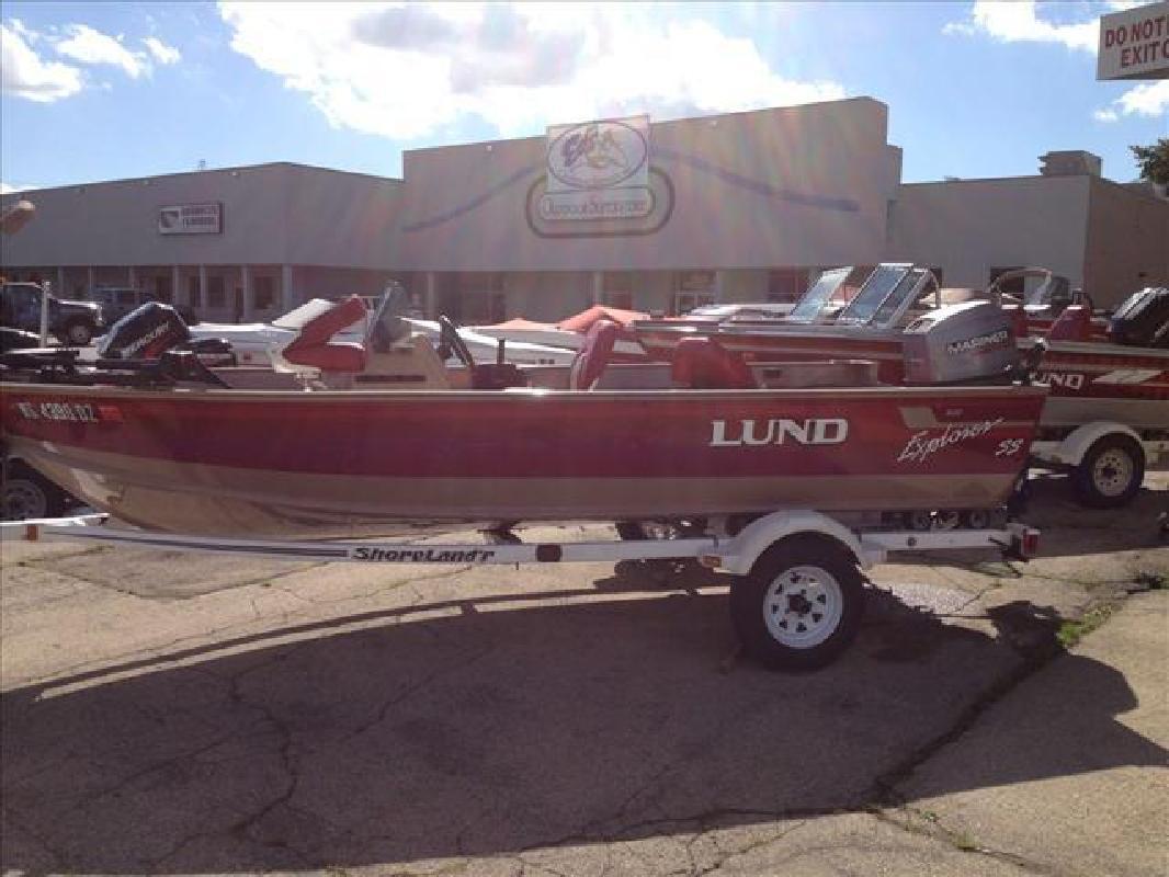 1997 Lund Boats Aluminum 1600 Explorer SS Appleton WI