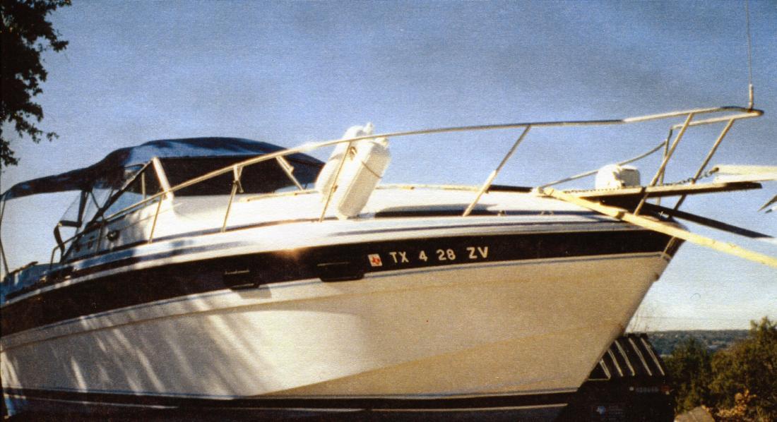 1984 31' Wellcraft Express Cruiser