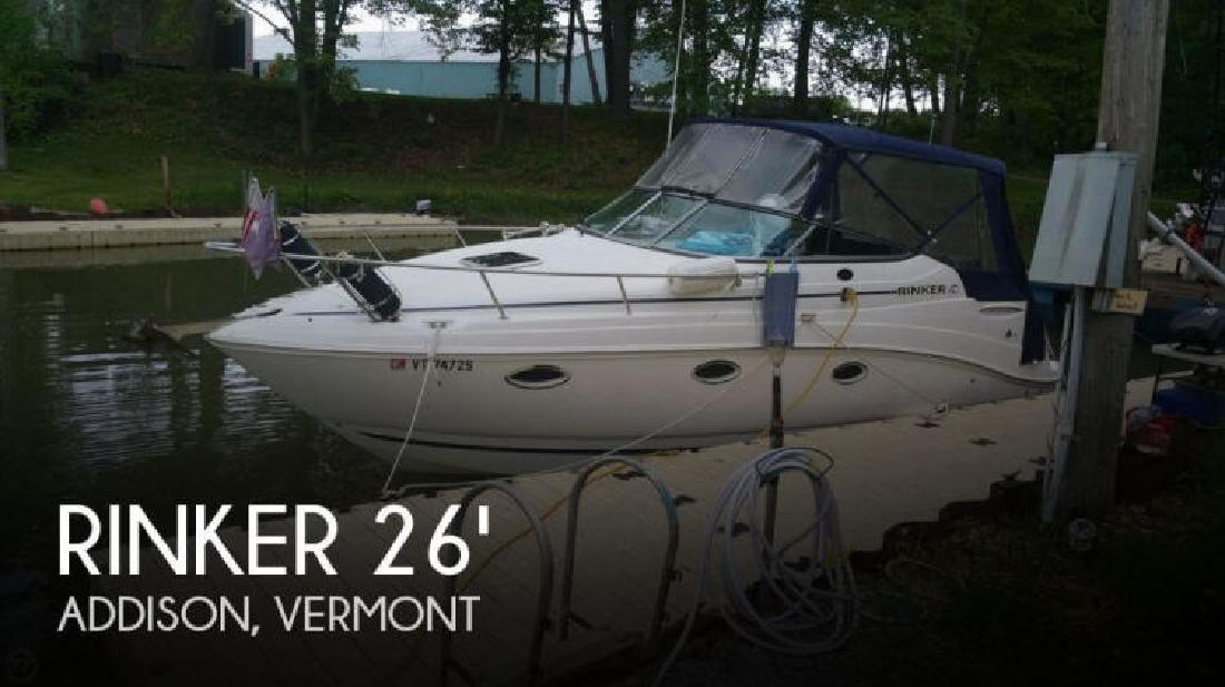 2008 Rinker Boats 260 Express Cruiser Addison VT