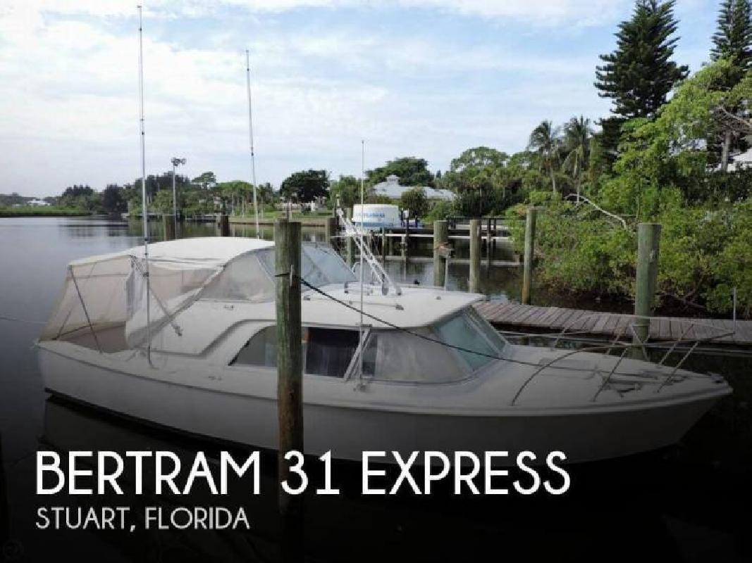 1964 Bertram Yacht 31 Express Stuart FL