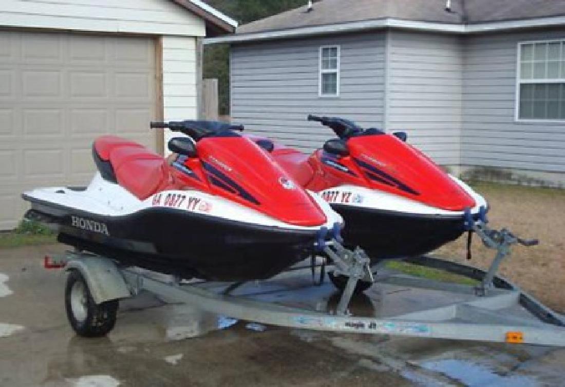 $2,950 Two 2006 Honda AquaTrax F-12X, Turbo Jet Skiis