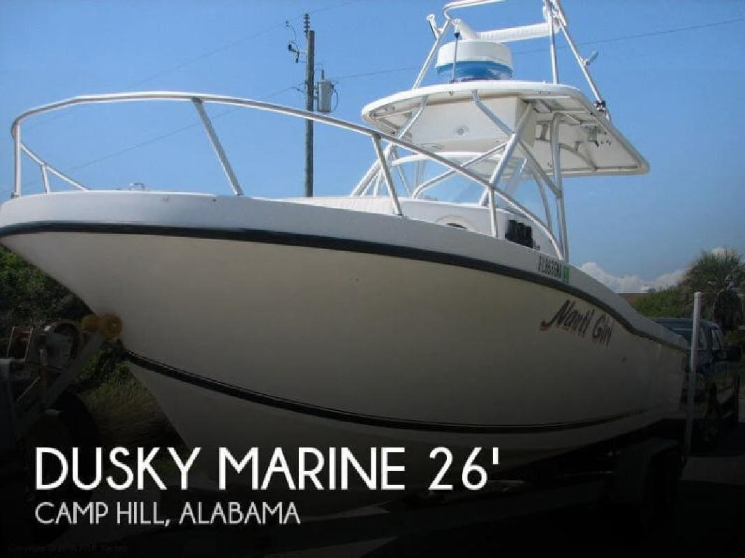 2006 Dusky Marine 256 FACKeel model Waverly AL