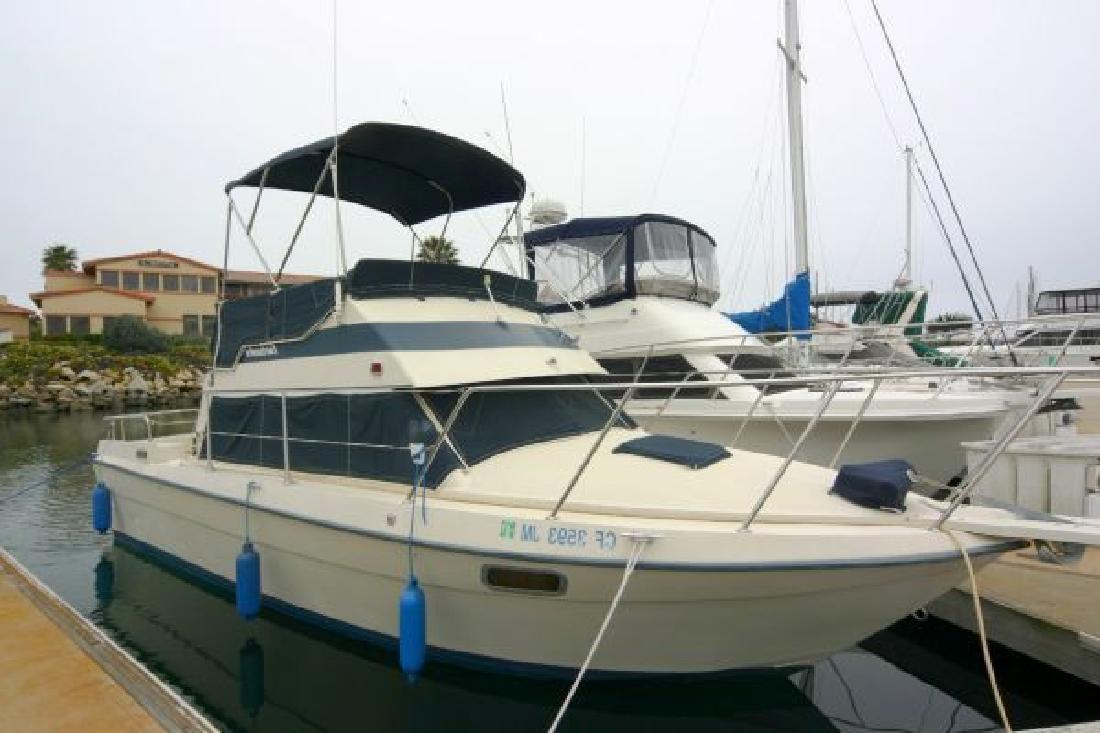 1987 28 U0026 39  Fairbanks Sportfisher For Sale In Ventura