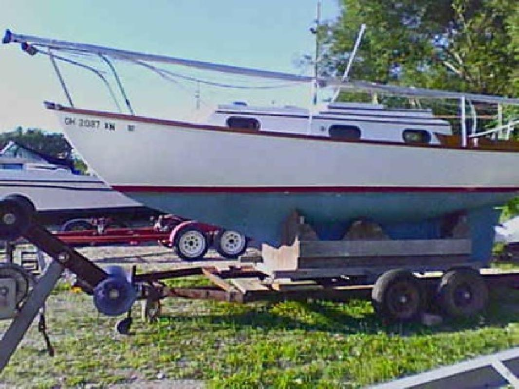 $8,000 Sailboat Cape Dory 25 Fairport Harbor Ohio for sale