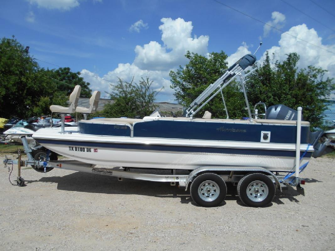 2016 - Hurricane Deck Boats - FD 198 OB in Lewisville, TX