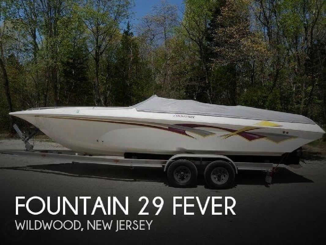 2001 Fountain Powerboats 29 Fever Franklinville NJ